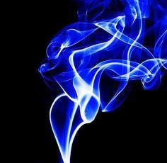 Electric Blue Smoke