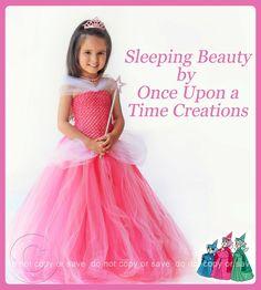 Aurora Inspired Princess Tutu Dress - Halloween Costume i wanna make this Little Princess, Princess Tutu Dresses, Girls Tutu Dresses, Princess Costumes, Tutus For Girls, Tutu Skirt Kids, Kids Tutu, Toddler Tutu, Tutu Skirts