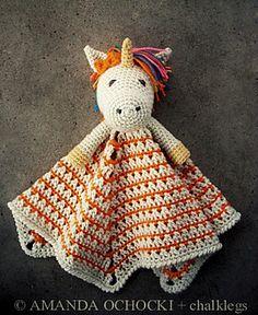 Ravelry: chalklegs' Unicorn Lovey Pattern: Unicorn Lovey by Briana Olsen