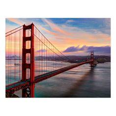Wood Wall Decor, Wood Wall Art, San Francisco Wallpaper, Wood Company, Winter Sunset, Thing 1, San Francisco California, Wood Canvas, Photo On Wood