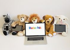 Bluebee Pals Interactive Bluetooth Plush Toys www.bluebeepals.com #toys #bluetooth #toysrus #bluebeepals #toy #thesource #new
