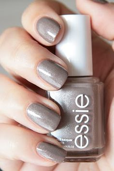 Essie Mochacino.  On my nails now...my new fall fave.