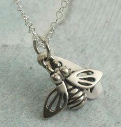 Queen Bee  in sterling silver by Kathryn by KathrynRiechert