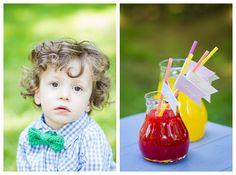 Eine süße Geburtstagsparty und niedliche Häkelkleidung für Kinder von Ma:schee.   Papeterie von Pretty in Print.   Fotos von Fräulein Stern Fotografie.
