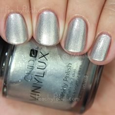CND VINYLUX Safety Pin | Fall 2015 Contradictions Collection | Peachy Polish