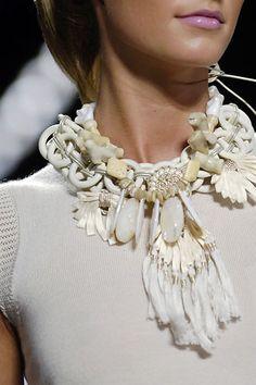 Oscar de la Renta S/S 06 necklace  pinned from Unique