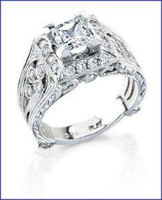 Gregorio 18K WG Diamond Engagement Ring R-287