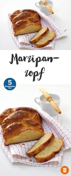 Marzipanbrot - Diet And Nutrition Weight Watcher Snacks, Weight Watchers Meals, Weigt Watchers, No Bread Diet, Healthy Freezer Meals, Diet And Nutrition, Cakes And More, Food Hacks, Food And Drink