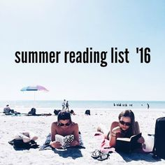 click for my summer reading list! #reading #summerreading2016