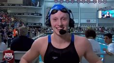 New party member! Tags: swimming swimmer raise the roof katie ledecky ledecky yeah yeah yeah