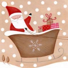 Lucy Barnard - red beige santa.jpg