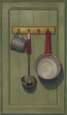 hanging old pot