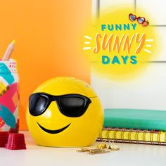 Let Cool Scentsy Warmer put your sunny disposition — and playful sense of humor — on full display!  * * * Summer Collection Special edition, limited supply! * * * ►https://tressalynne.scentsy.us |   •Fun emoji wax warmer for scented wax melts. Home decor. Room decor.