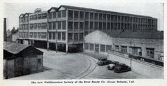 1933 Ever Ready Battery Company factory in Forest Road #Walthamstow beside the Royal Standard pub Blackhorse road . It manufactured radio high tension batteries and dry cells for electric torches. It had a floor area of 175,000 square feet, and  employed 2,000 peopleAlan Russell (@soxgnasher) on Twitter Old London, East London, Dry Cell, High Tension, London History, Forest Road, As Time Goes By, Square Feet, Louvre