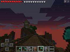 (W2) sunset Minecraft PE