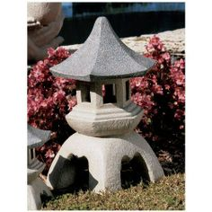 """17.5"""" Asian Pagoda Lantern Garden Pool Side Sculpture Statue by XoticBrands. $102.34. Classic Statues Sculptures. Our scaled sculptures exude serenity and style. ; Imagine the classic lines of these Asian influenced sculptures set amidst your flowerbed or near your pool or pond. Since Marco Polo?s time, the tranquil energy and graceful shape of the Asian pagoda has been transported to European gardens. Our sculpture is made of designer reson and will lend their serenity and ..."""