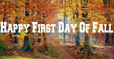 Happy First Day Of Fall Trending on Internet