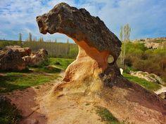 Panoramio - Photos by İsmail AKPINAR > NEVŞEHİR-Gülşehir Açıksaray Ören Yeri