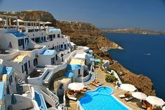 One day I'll get back here - Volcano View Hotel in Santorini, Greece.