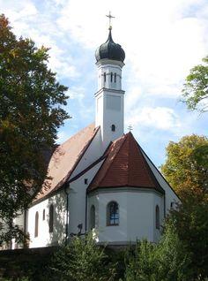 Eresing-Sankt Ottilien, Schlosskapelle St. Ottilia (Landsberg am Lech) BY DE