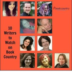 Hey! Wow! I'm one of these authors. 3rd row on the right. Feeling super-honored. @bookcountryofficial