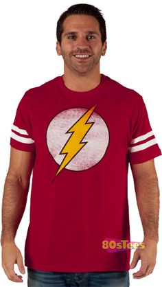 3bc0d38f Sure, Sheldon wears this Flash Jersey shirt a lot... Ghostbusters Logo,
