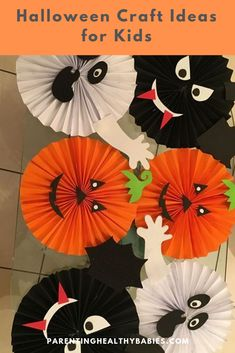 The spirit of Halloween is best celebrated with handmade crafts. Here are 31 easy to make DIY halloween craft ideas for kids. Handmade Crafts, Diy And Crafts, Crafts For Kids, Spirit Halloween, Halloween Crafts, Homemade Halloween Decorations, Fall Crafts, Activities For Kids, Party