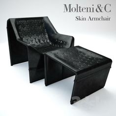 Download Molteni&C / Skin Armchair free 3D model for printing