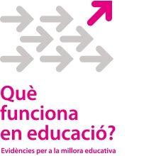 El projecte Què funciona en educació? Es proposa revisar les evidències generades per la recerca rigorosa al voltant de les polítiques i els programes que milloren els aprenentatges, per tal d'informar el disseny de les polítiques educatives.