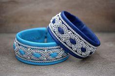 Sami Lapland Swedish Viking braided armband | Wide cuff leather bracelet…