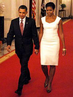 Sheath Dress- Michelle Obama