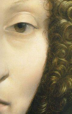 Фрагмент картины Леонардо да Винчи