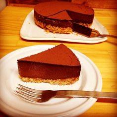 「生チョコみたいな簡単チョコタルト」バレンタインに作りました。とっても簡単なのに仕上がりは本格的!!旦那さんも気に入ったので普通の日にも作ろう(^u^)【楽天レシピ】