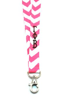 Gamma Phi Beta Lanyard from South Bound Sisters