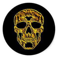 3D Gold Skull Sticker! http://www.zazzle.com/3d_gold_skull_sticker-217838307598637614?size=3.0&view=113990321663375483&rf=238020180027550641