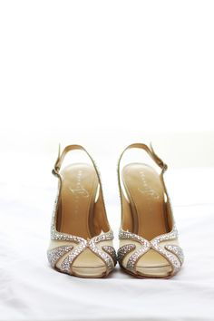 Gorgeous bridal shoes by Ashley Brooke Photography - KnotsVilla