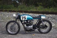 Honda CB500T Cafe Racer - The Corner Garage motorcycles #motorcycles #caferacer #motos | caferacerpasion.com