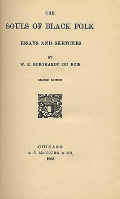 The SOULS OF BLACK FOLK     by W.E. Burghardt Du Bois examines the years following the Civil War.  Du Bois describes the legal system and tenant farming system as only slightly removed from slavery. He also examines African American religion from its origins in African society, through its development in slavery, to the formation of the Baptist and Methodist churches and how racial prejudice impacts individuals. Du Bois concludes his book with an essay on African American spirituals.