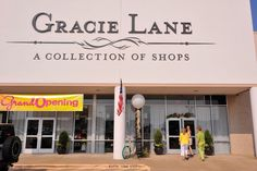 Gracie Lane: A Wonderland for Women Shoppers in the Arlington Texas area, including baby clothes made in America by O Baby! Originals