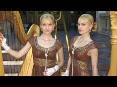 ▶ (Harp Twins) Camille and Kennerly, Harp Duet - YouTube