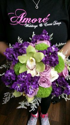 Amore Décor custom Fresh Floral Bouquet.  See more at www.amoredecorrental.com