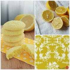 Biscotti morbidi al limone / Soft lemon cookies   Breakfast at Tiffany's