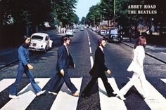 A great Beatles poster of the Fab Four crossing Abbey Road! One of the most famous album covers (and best albums) of all-time! Check out the rest of our FABulous selection of Beatles posters! Need Poster Mounts. Beatles Lyrics, Les Beatles, Beatles Art, Beatles Albums, Beatles Photos, George Harrison, Paul Mccartney, Poster Dos Beatles, Beatles Abbey Road