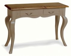 Farmhouse Two-Drawer Console - French Provincial Furniture | eBay