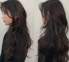 Haircuts Straight Hair, Long Hair Cuts, Hair Inspo, Hair Inspiration, Hair Color Streaks, Cut My Hair, Aesthetic Hair, Layered Hair, Dyed Hair