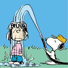Snoopy better run.