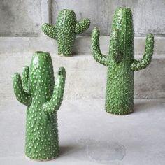 Small Cactus Flower Vase - 04