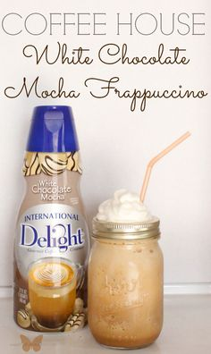 Make your own coffee house frappuccino at home and save big $$$. Use your favorite #IcedDelight flavor!