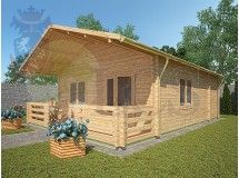 Residential Log Cabin 295 - 5.7m x 8.5m
