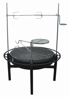 RIVERGRILLE GR1038-014612 Rancher Fire Pit Charcoal Grill with Rotisserie, 31-Inch by RIVERGRILLE, $259.99